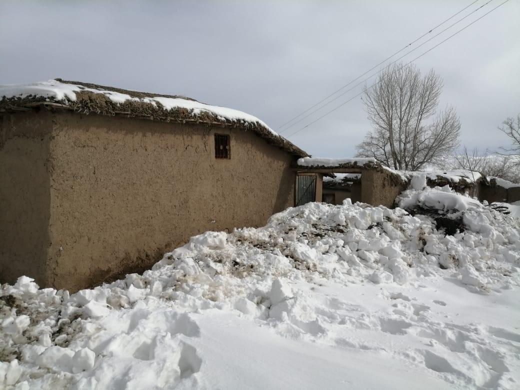 تدمرت المنازل وتضررت بسبب الظروف الجوية القاسية في بلوشستان