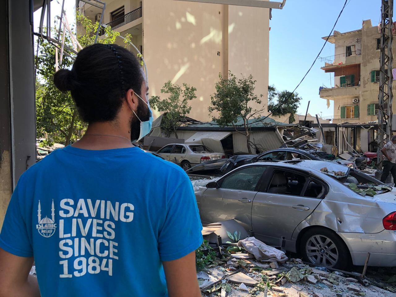 حملة دعم لبنان- الإغاثة الإسلامية عبر العالم